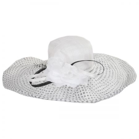 Dusty Ray Sinamay Straw Swinger Hat