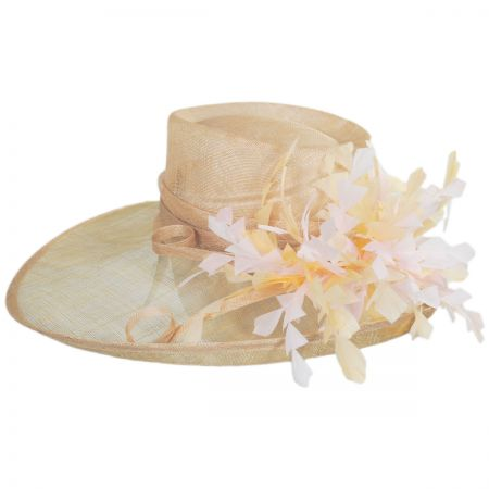 Benet Sinamay Straw Boater