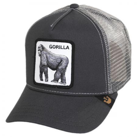 Goorin Bros Silverback Trucker Snapback Baseball Cap - Gray