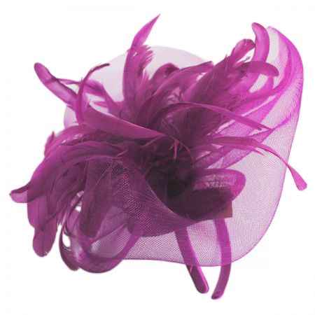 d2834fbad3039 Fuchsia Fascinator at Village Hat Shop