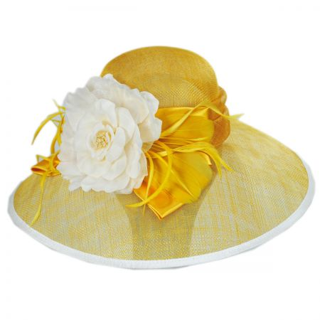 St. Clair Sinamay Straw Lampshade Hat