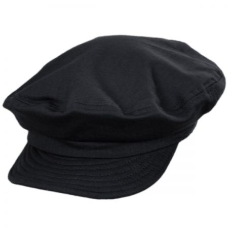 Unstructured Cotton Fiddler Cap alternate view 37