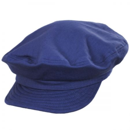Unstructured Cotton Fiddler Cap alternate view 31