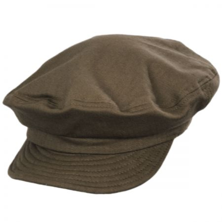 Unstructured Cotton Fiddler Cap alternate view 25