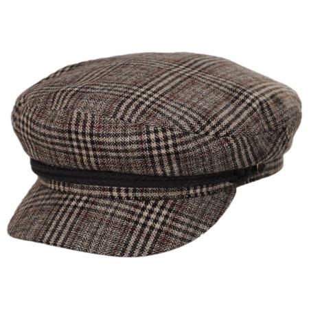 b4067fd0d9e29 Houndstooth Cap at Village Hat Shop