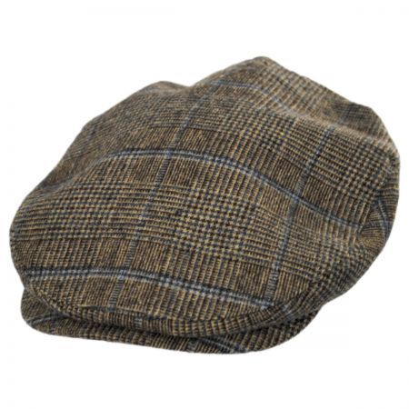 Brixton Hats Plaid Barrel Wool Blend Ivy Cap