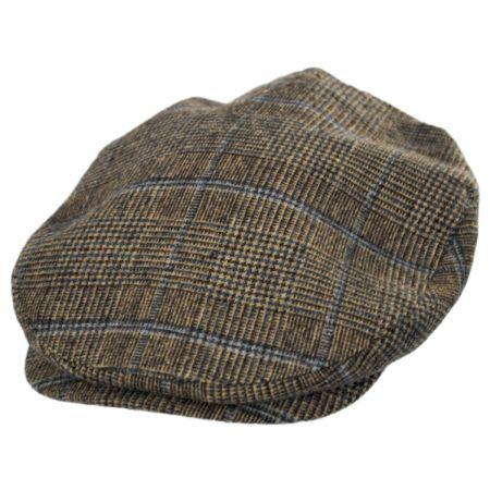 Brixton Hats Plaid Barrel Wool Blend Ivy Cap