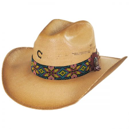 Charlie 1 Horse Gold Digger Toyo Straw Western Hat