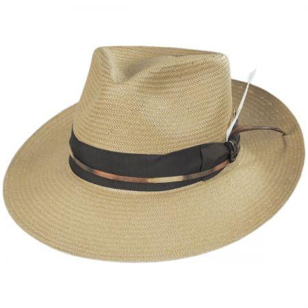 Biltmore Slicker Handwoven Shantung Fedora Hat