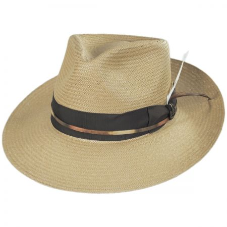 Slicker Shantung Fedora Hat alternate view 5