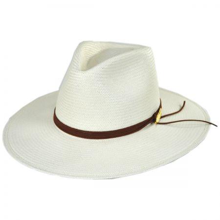 Stetson Cottonwood Shantung Straw Fedora Hat