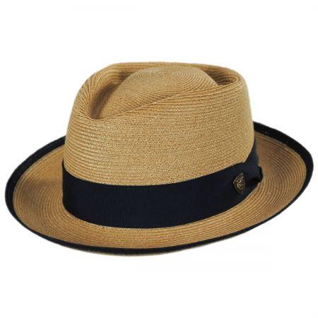 Dobbs Lineup Hemp Straw Fedora Hat