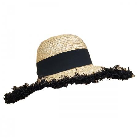 Hatch Hats Vacationer Wheat Braid Swinger Hat