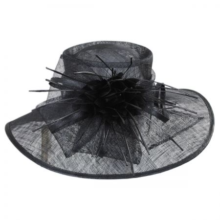 Something Special Aquaria Sinamay Straw Lampshade Hat