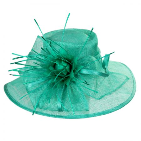 Aquaria Sinamay Straw Lampshade Hat alternate view 9