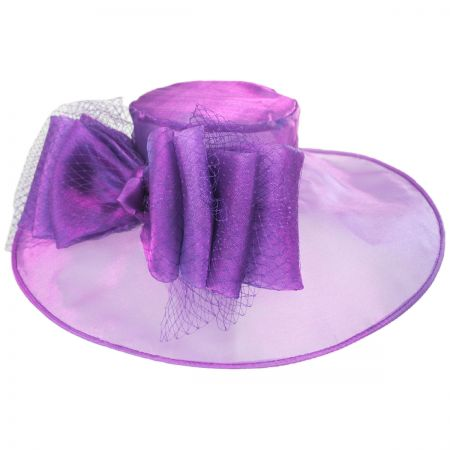 Layla Organza Boater Hat alternate view 1