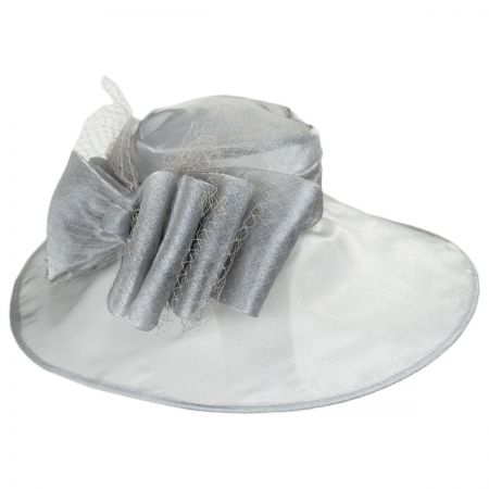 Something Special Layla Organza Boater Hat