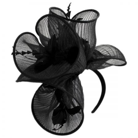 28a47bc01c4a2 Black Fascinator at Village Hat Shop