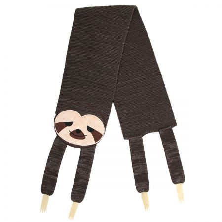 Elope Sleepy Sloth Knit Scarf