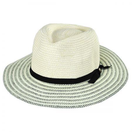 Tamalina Toyo Straw Fedora Hat