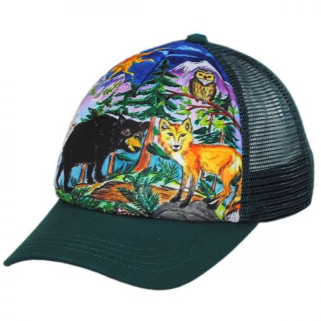 Sunday Afternoons Child's Forest Friends Trucker Snapback Baseball Cap