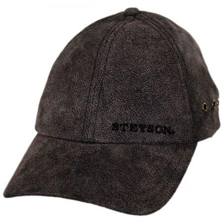 Stetson Pigskin Strapback Baseball Cap