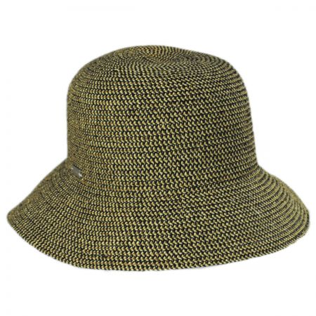 Gossamer Toyo Straw Blend Cloche Hat alternate view 21