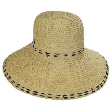 Callanan Hats Belladonna Raffia Straw Sun Hat