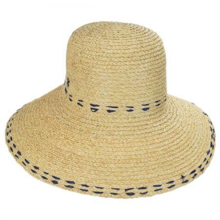 Belladonna Raffia Straw Sun Hat alternate view 5