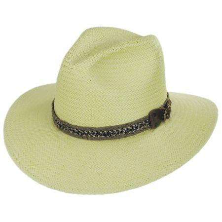 Bailey Cayuga Raindura Straw Fedora Hat