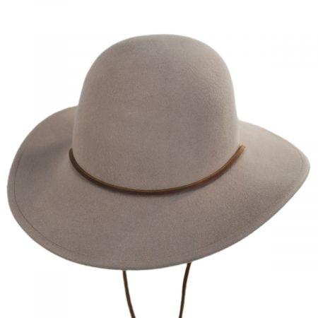 Tiller Packable Wool Felt Wide Brim Hat alternate view 2