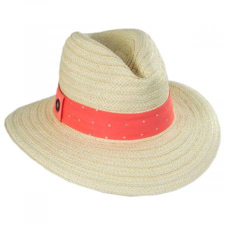 Splendid Summer Toyo Straw Fedora Hat alternate view 1