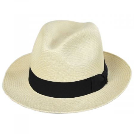 Grade 8 Panama Straw Fedora Hat alternate view 17