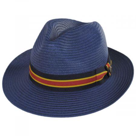 Cuba Toyo Straw Fedora Hat alternate view 1