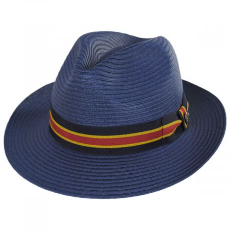 7619fd7992e40 Pin Stripe Fedora at Village Hat Shop