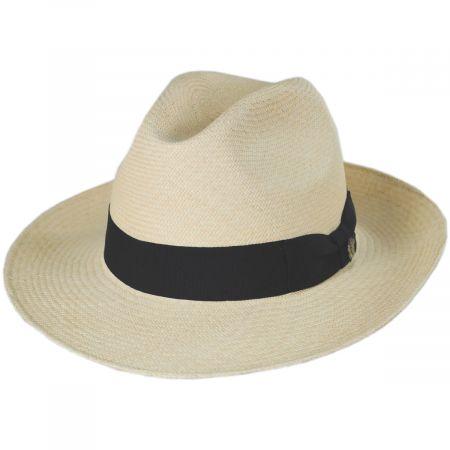 Bigalli Don Juan Grade 8 Panama Straw Fedora Hat