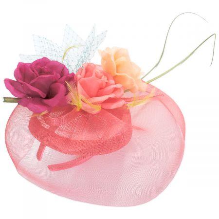 Something Special Ruby Roses Sinamay Straw Fascinator