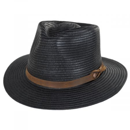 Bigalli Outdoor Toyo Straw Fedora Hat