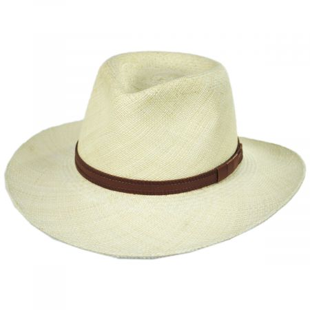 Bigalli Vancouver Panama Straw Outback Hat
