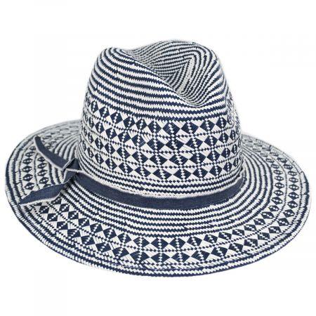 Brooklyn Hat Co Mykonos Toyo Straw Fedora Hat