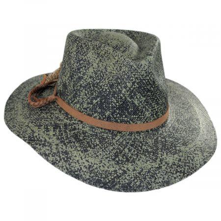 Bigalli Hope Panama Straw Fedora Hat