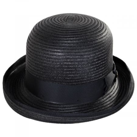 Kanye Toyo Straw Bowler Hat alternate view 1