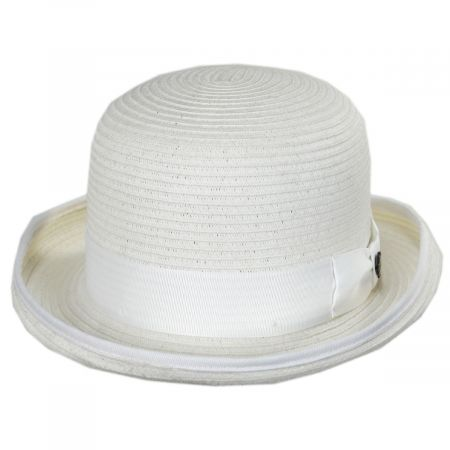 Kanye Toyo Straw Bowler Hat alternate view 13
