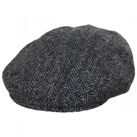Stornoway Harris Tweed Wool Herringbone Flat Cap alternate view 21