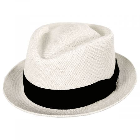 Diamond Panama Straw Fedora Hat alternate view 21