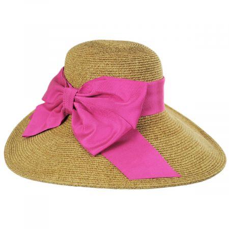 Side Bow Toyo Straw Sun Hat alternate view 2