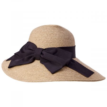Toucan Collection Side Bow Toyo Straw Sun Hat
