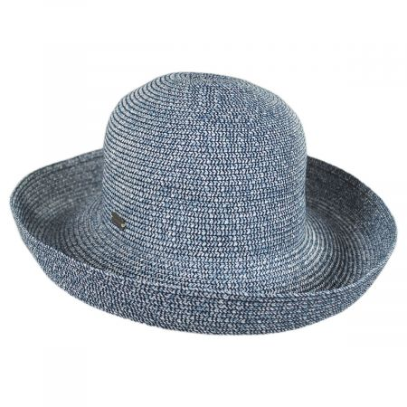 Classic Toyo Straw Roll Up Sun Hat alternate view 3