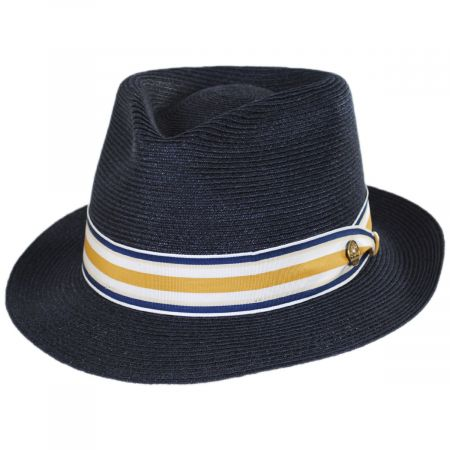 Luciano Hemp Straw Fedora Hat alternate view 17