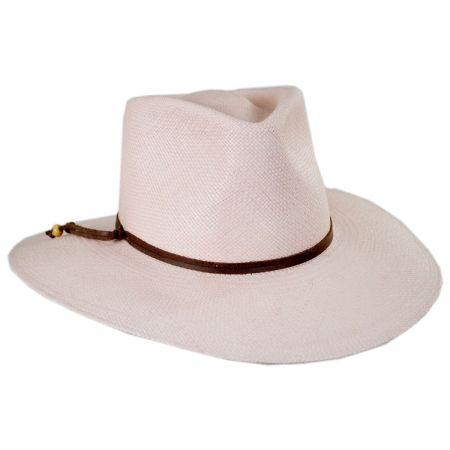 990a5d09 Bigalli Tessa Panama Straw Fedora Hat